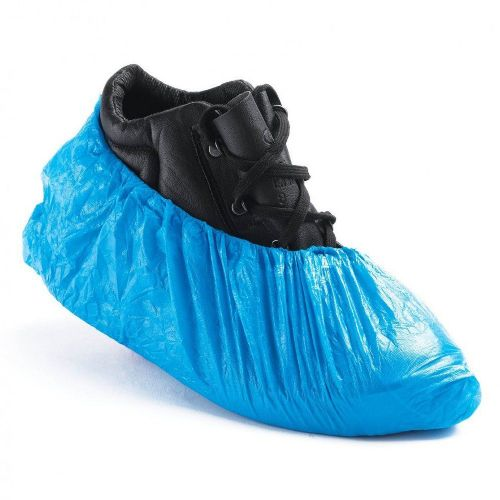 Warrior Disposable Blue Overshoes - 2000 Pack